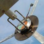 Libellula - dettaglio posteriore rotore