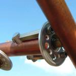 Turbina - dettaglio snodo